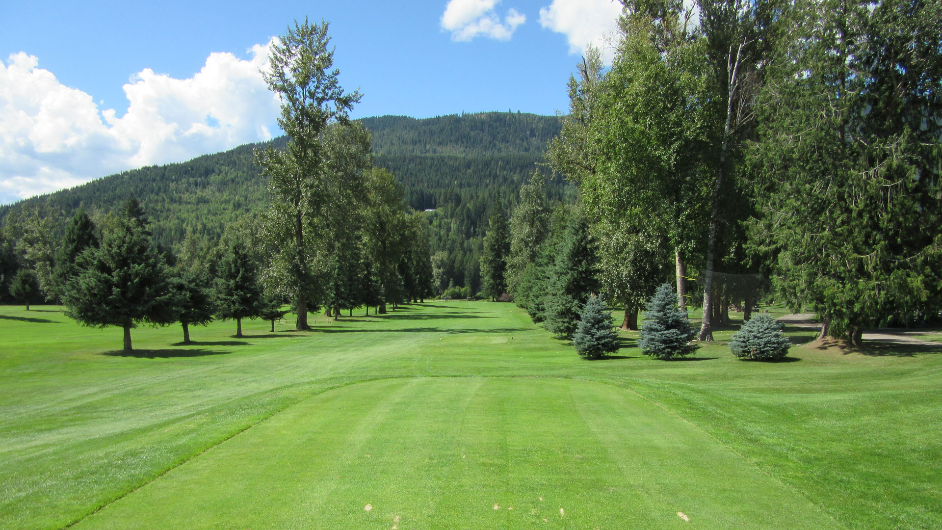 Eagle River Golf - Hole 1 Tee