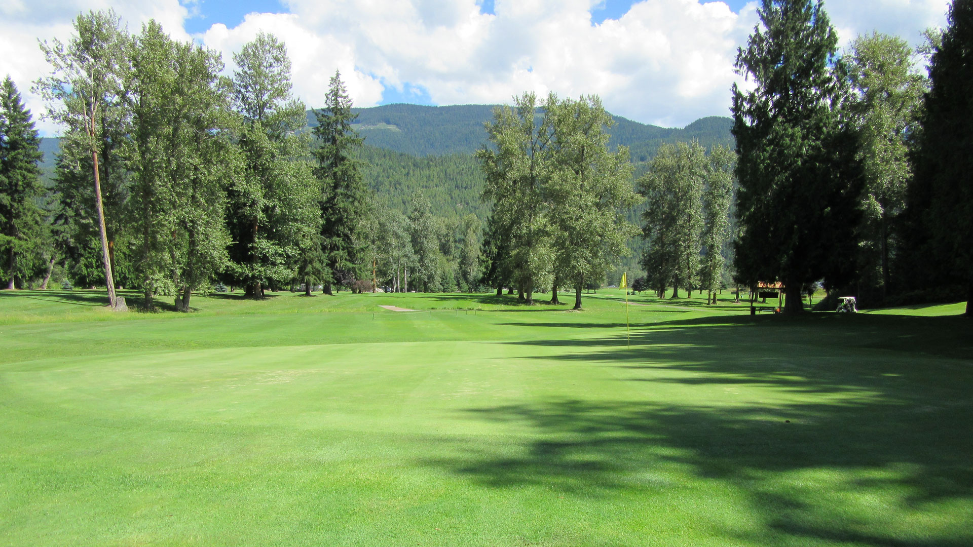 Eagle River Golf - Hole 1 Green