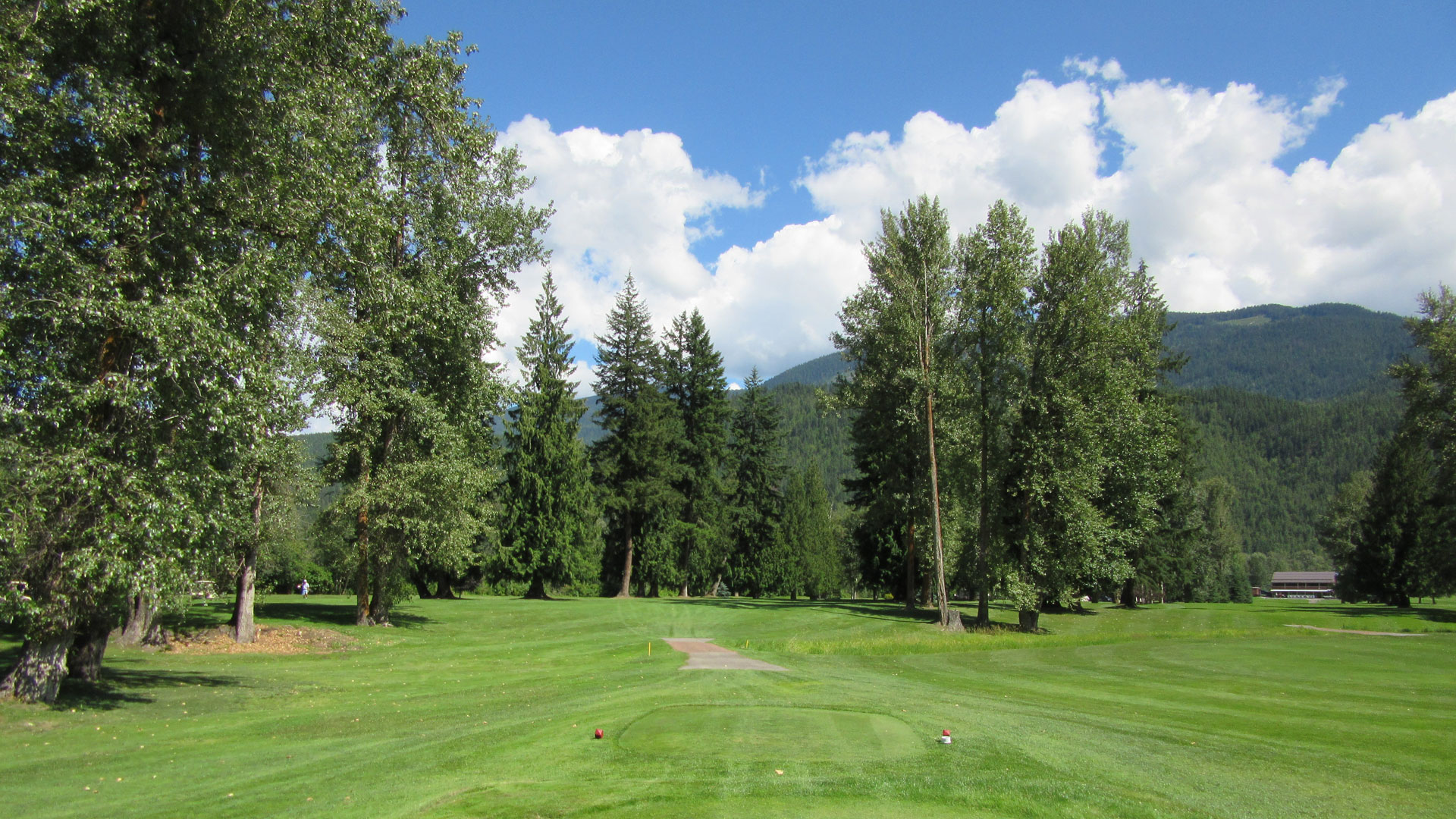 Eagle River Golf - Hole 3 Tee