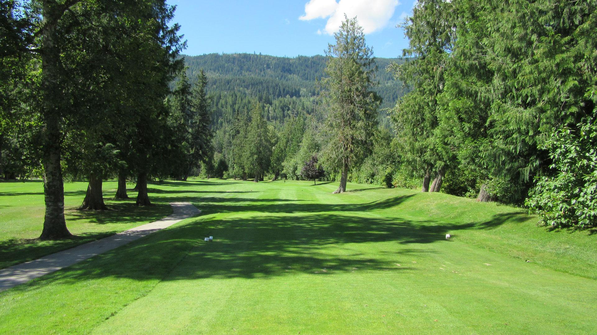 Eagle River Golf - Hole 3 Tee