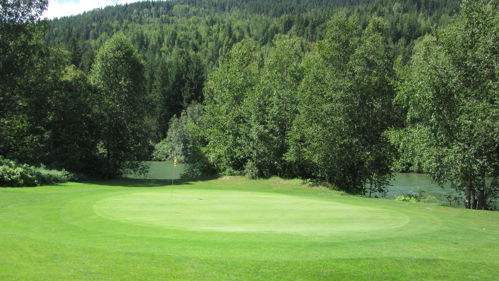 Eagle River Golf - Hole 4 Green