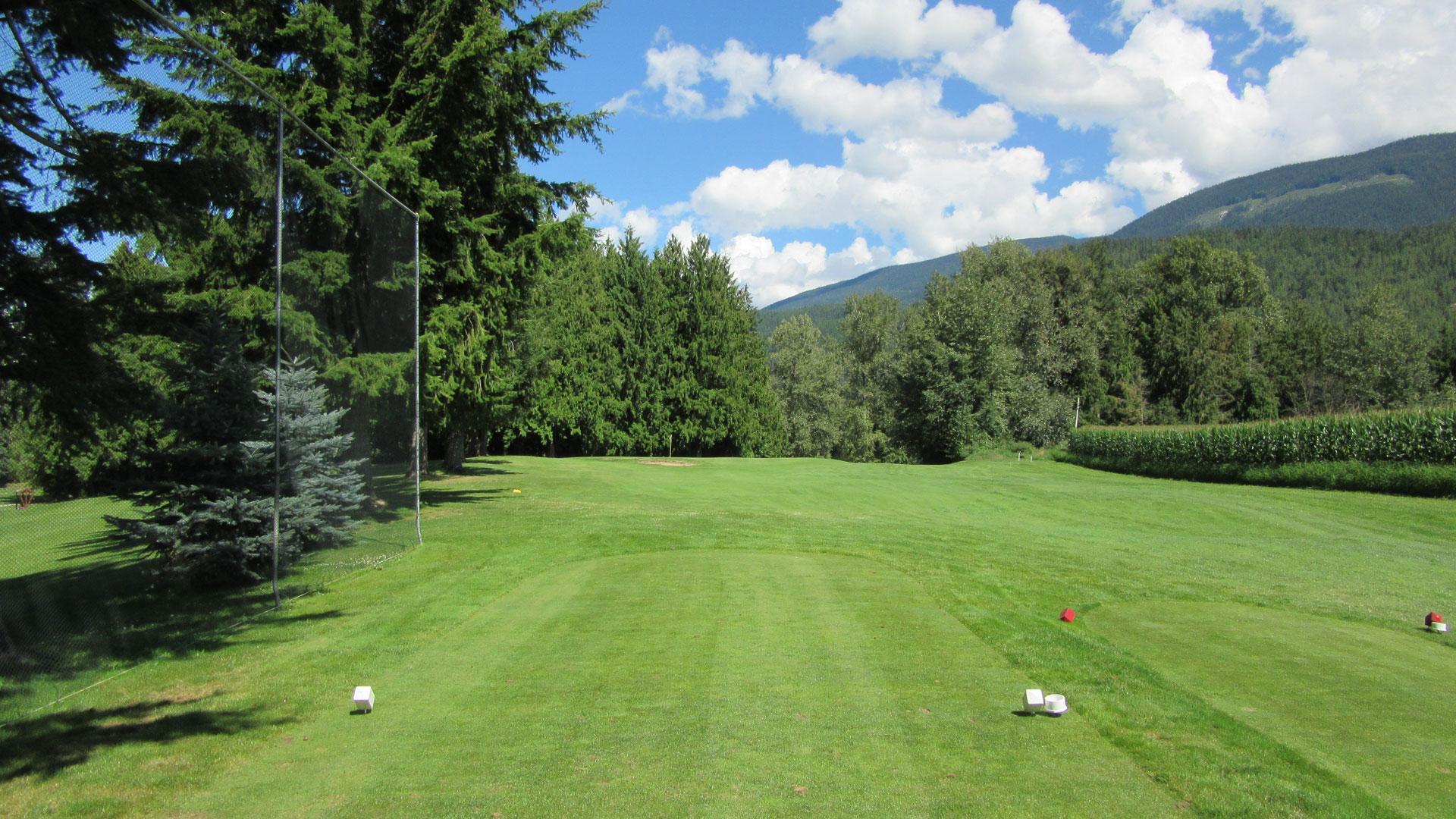Eagle River Golf - Hole 5 Tee
