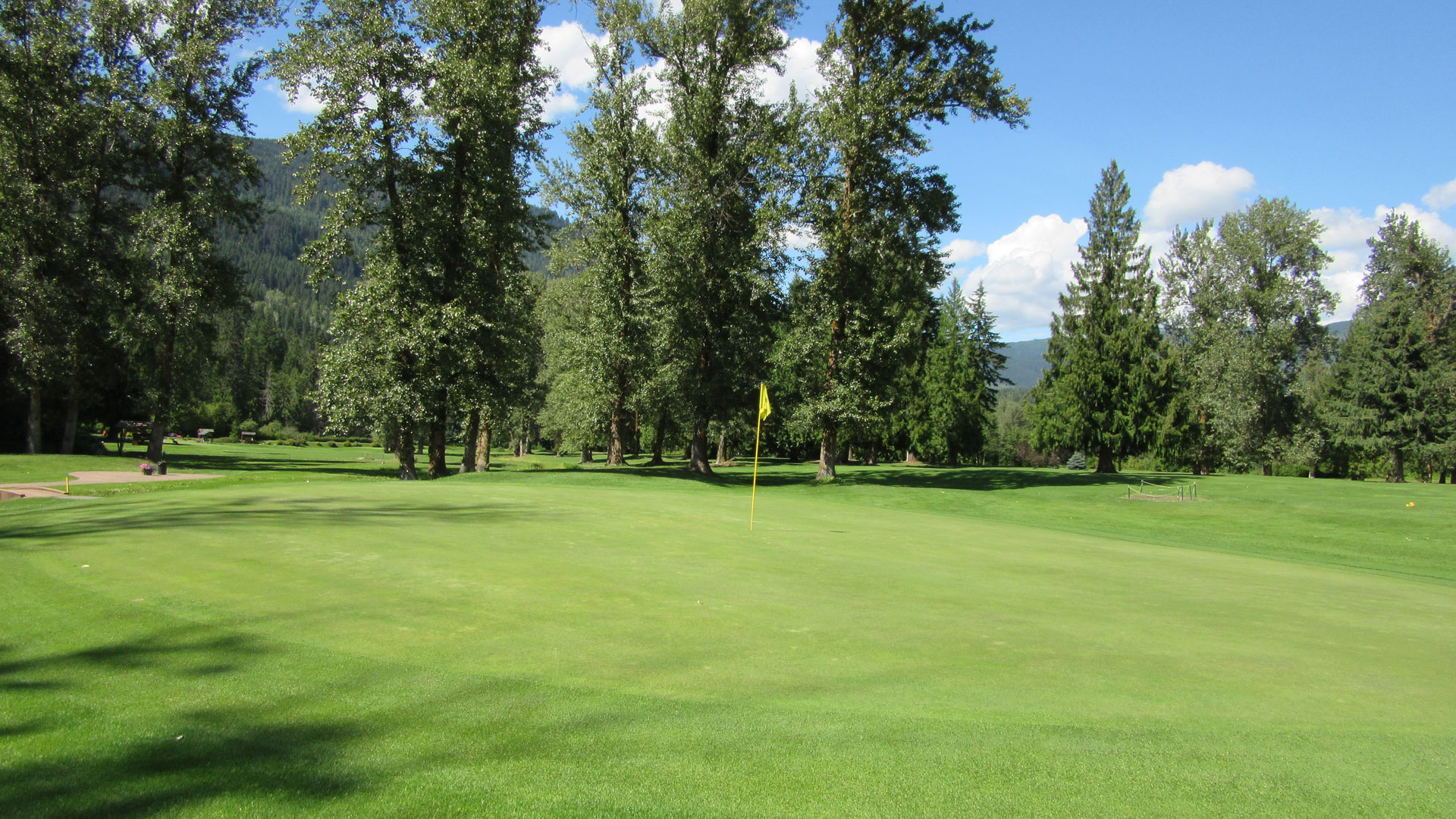 Eagle River Golf - Hole 7 Green