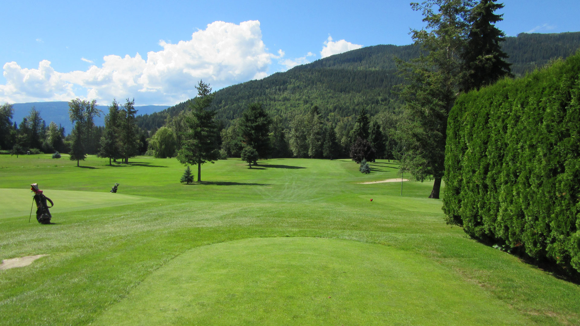Eagle River Golf - Hole 7 Tee
