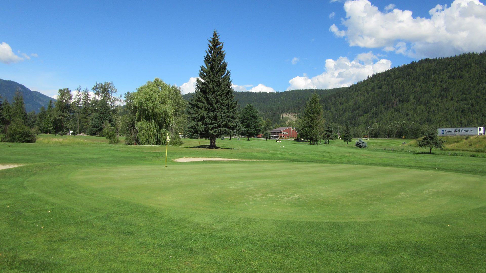 Eagle River Golf - Hole 8 Green