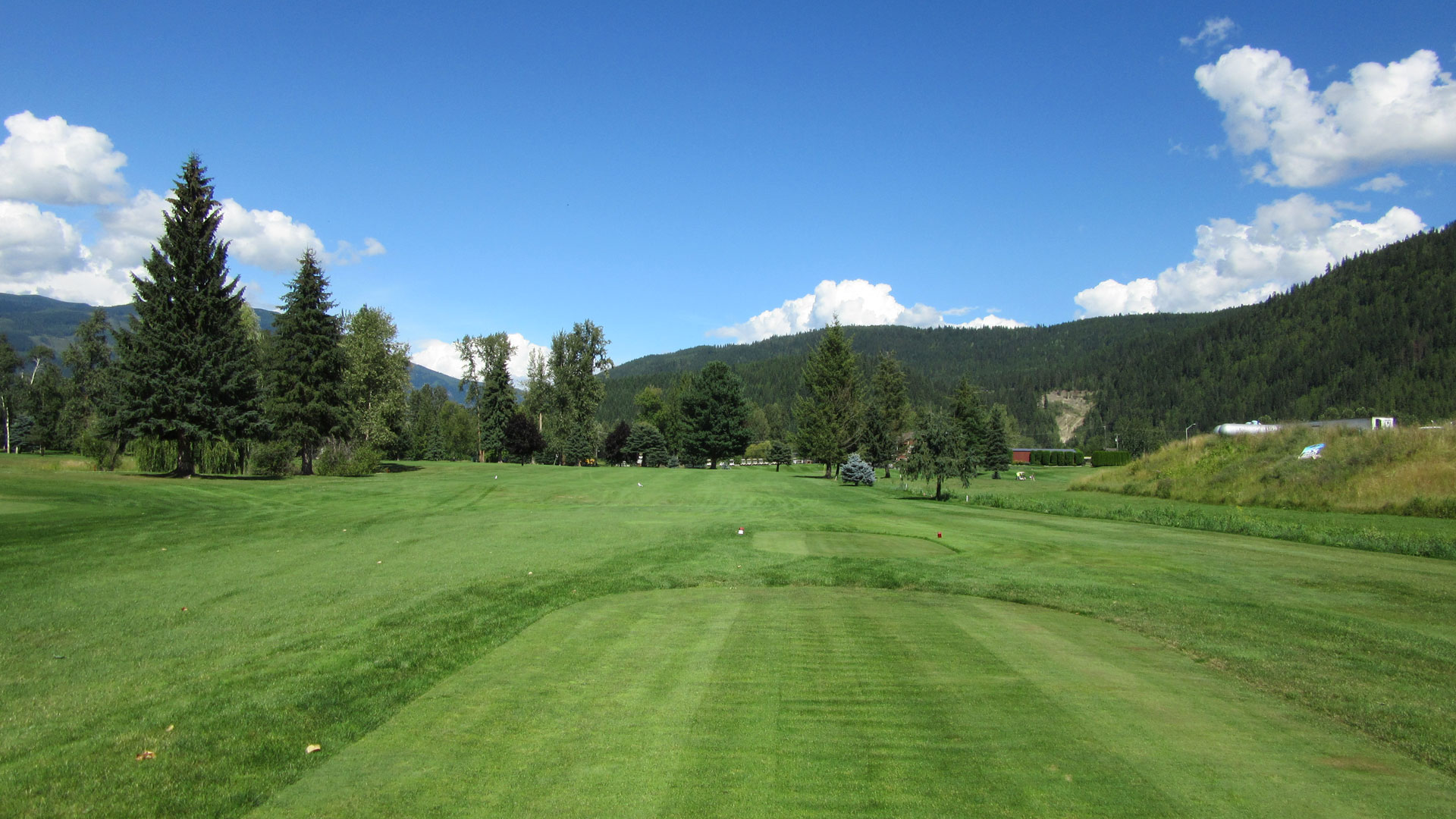 Eagle River Golf - Hole 9 Tee