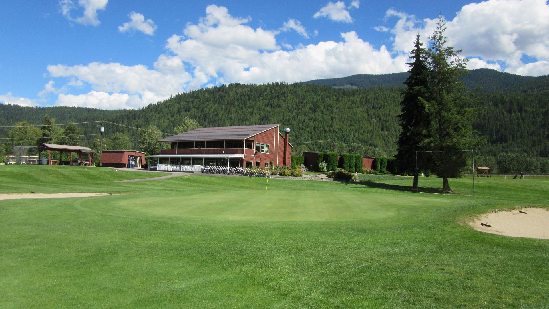 Eagle River Golf - Hole 6 Green