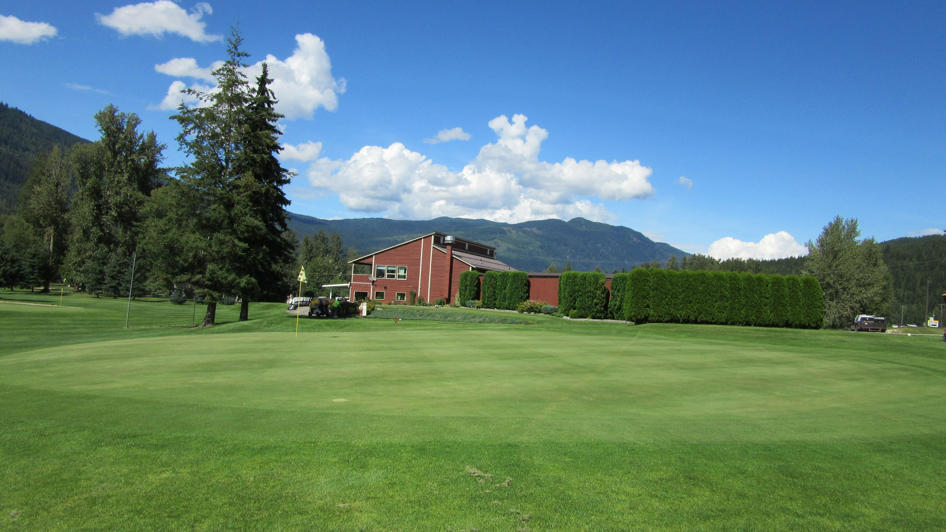 Eagle River Golf - Hole 9 Green